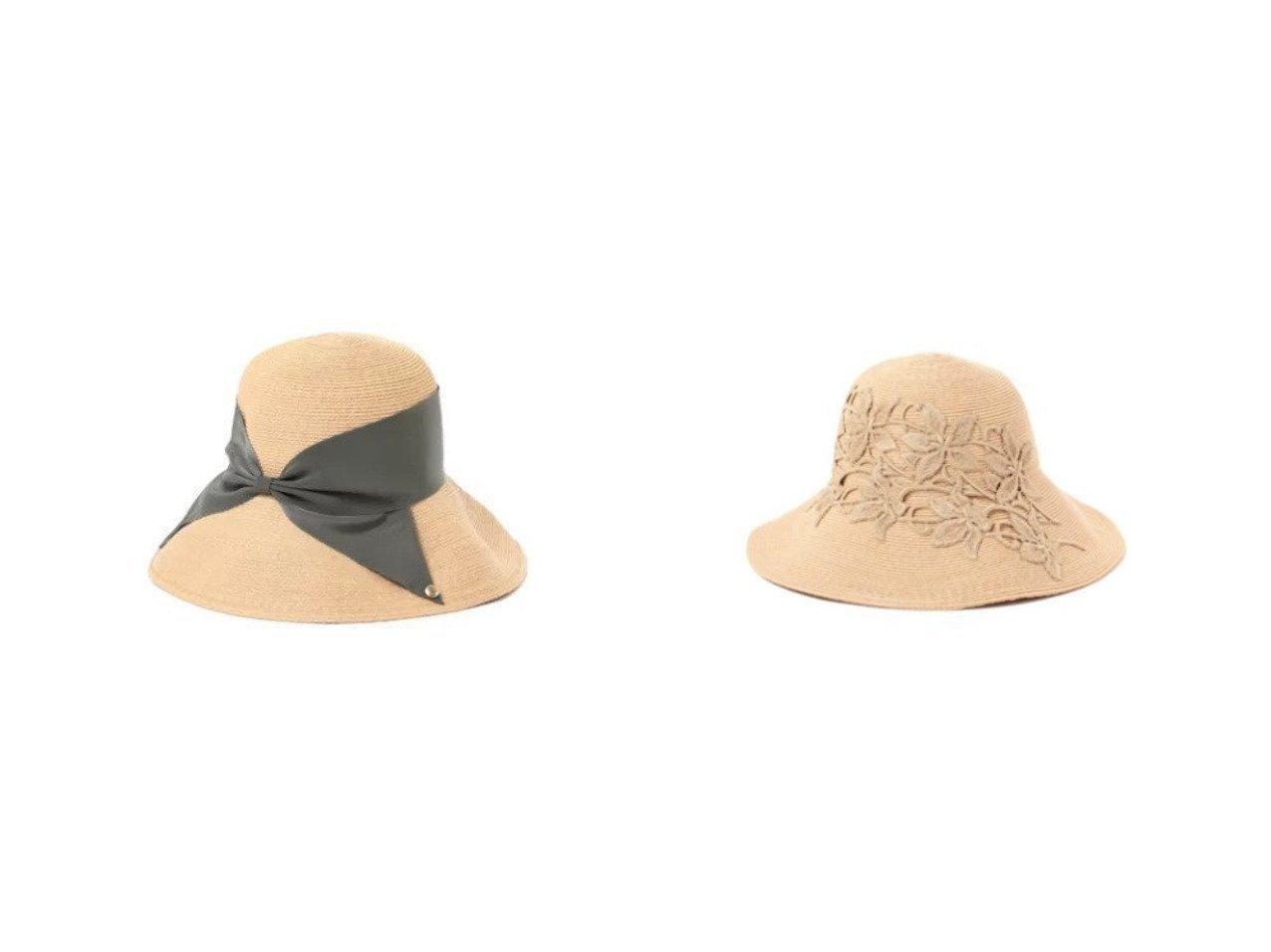 【Demi-Luxe BEAMS/デミルクス ビームス】のRisako Raffia ハット&Plumeria ハット おすすめ!人気、トレンド・レディースファッションの通販 おすすめで人気の流行・トレンド、ファッションの通販商品 メンズファッション・キッズファッション・インテリア・家具・レディースファッション・服の通販 founy(ファニー) https://founy.com/ ファッション Fashion レディースファッション WOMEN 帽子 Hats エレガント ニューヨーク ラフィア レース 帽子 定番 Standard 人気 リボン |ID:crp329100000029512