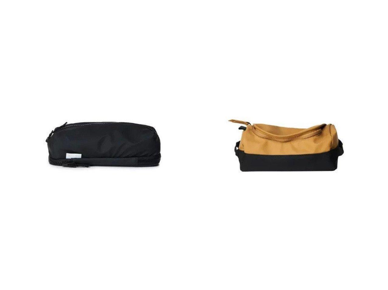 【RAINS/レインズ】のDuffel wash Bag Travel&Soft Pencil Case おすすめ!人気、トレンド・レディースファッションの通販 おすすめで人気の流行・トレンド、ファッションの通販商品 メンズファッション・キッズファッション・インテリア・家具・レディースファッション・服の通販 founy(ファニー) https://founy.com/ ファッション Fashion レディースファッション WOMEN ポーチ Pouches トラベル ポーチ |ID:crp329100000029515