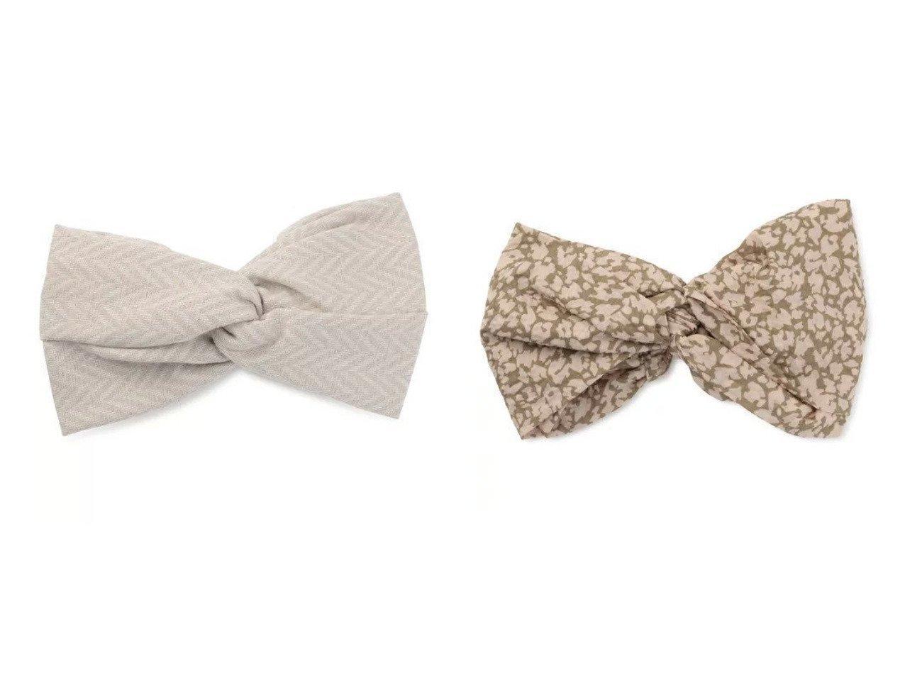【La Maison de Lyllis/ラ メゾン ド リリス】のHACHIMAKI&MUSUBI おすすめ!人気、トレンド・レディースファッションの通販 おすすめで人気の流行・トレンド、ファッションの通販商品 メンズファッション・キッズファッション・インテリア・家具・レディースファッション・服の通販 founy(ファニー) https://founy.com/ ファッション Fashion レディースファッション WOMEN シュシュ / ヘアアクセ Hair Accessories 2021年 2021 2021春夏・S/S SS/Spring/Summer/2021 S/S・春夏 SS・Spring/Summer アクセサリー シンプル ストール ターバン フォルム フィット フェイス ヘリンボーン リボン |ID:crp329100000029518
