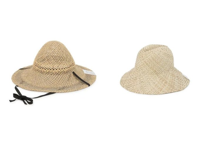 【La Maison de Lyllis/ラ メゾン ド リリス】のCASA&BUSH おすすめ!人気、トレンド・レディースファッションの通販 おすすめファッション通販アイテム レディースファッション・服の通販 founy(ファニー) ファッション Fashion レディースファッション WOMEN 帽子 Hats 2021年 2021 2021春夏・S/S SS/Spring/Summer/2021 S/S・春夏 SS・Spring/Summer クラウン フェミニン フォルム 帽子 手編み 透かし |ID:crp329100000029520