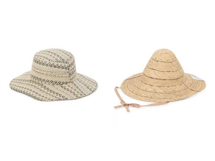 【La Maison de Lyllis/ラ メゾン ド リリス】のCASA&ICHIME おすすめ!人気、トレンド・レディースファッションの通販 おすすめファッション通販アイテム レディースファッション・服の通販 founy(ファニー) ファッション Fashion レディースファッション WOMEN 帽子 Hats 2021年 2021 2021春夏・S/S SS/Spring/Summer/2021 S/S・春夏 SS・Spring/Summer フォルム 帽子 手編み 透かし スタイリッシュ パターン リゾート |ID:crp329100000029522