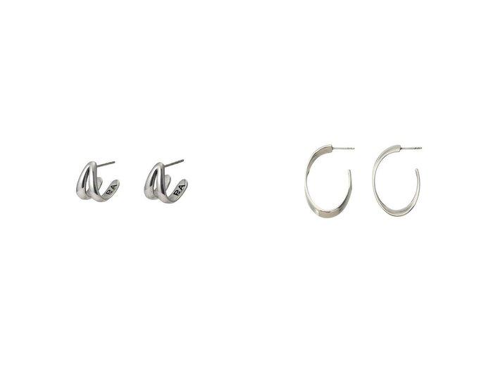 【allureville/アルアバイル】の【PHILIPPE AUDIBERT】WILLAイヤリング&【PHILIPPE AUDIBERT】TOBIASイヤリング 【アクセサリー・ジュエリー】おすすめ!人気、トレンド・レディースファッションの通販 おすすめファッション通販アイテム レディースファッション・服の通販 founy(ファニー) ファッション Fashion レディースファッション WOMEN ジュエリー Jewelry リング Rings イヤリング Earrings イヤリング シルバー シンプル フープ クール |ID:crp329100000029567