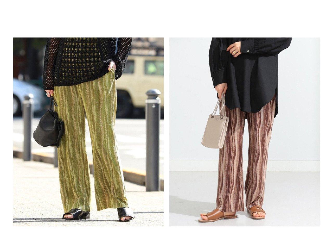 【Ray BEAMS/レイ ビームス】のカット プリーツ プリント パンツ 【パンツ】おすすめ!人気、トレンド・レディースファッションの通販 おすすめで人気の流行・トレンド、ファッションの通販商品 メンズファッション・キッズファッション・インテリア・家具・レディースファッション・服の通販 founy(ファニー) https://founy.com/ ファッション Fashion レディースファッション WOMEN パンツ Pants おすすめ Recommend カットソー ジーンズ プリント プリーツ レギンス |ID:crp329100000029595