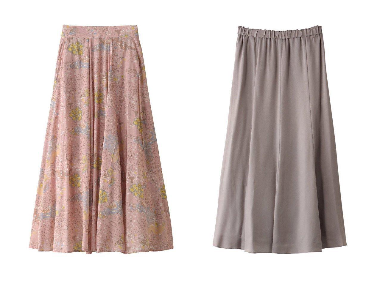 【ANAYI/アナイ】のフィブリルキュプラロングフレアスカート&【ZADIG & VOLTAIRE/ザディグ エ ヴォルテール】のJOYO PRINT GLAM ROCK JUPE スカート 【スカート】おすすめ!人気、トレンド・レディースファッションの通販 おすすめで人気の流行・トレンド、ファッションの通販商品 メンズファッション・キッズファッション・インテリア・家具・レディースファッション・服の通販 founy(ファニー) https://founy.com/ ファッション Fashion レディースファッション WOMEN スカート Skirt Aライン/フレアスカート Flared A-Line Skirts キュプラ シンプル フレア ロング エアリー パーティ フェミニン プリント 春 Spring |ID:crp329100000029599