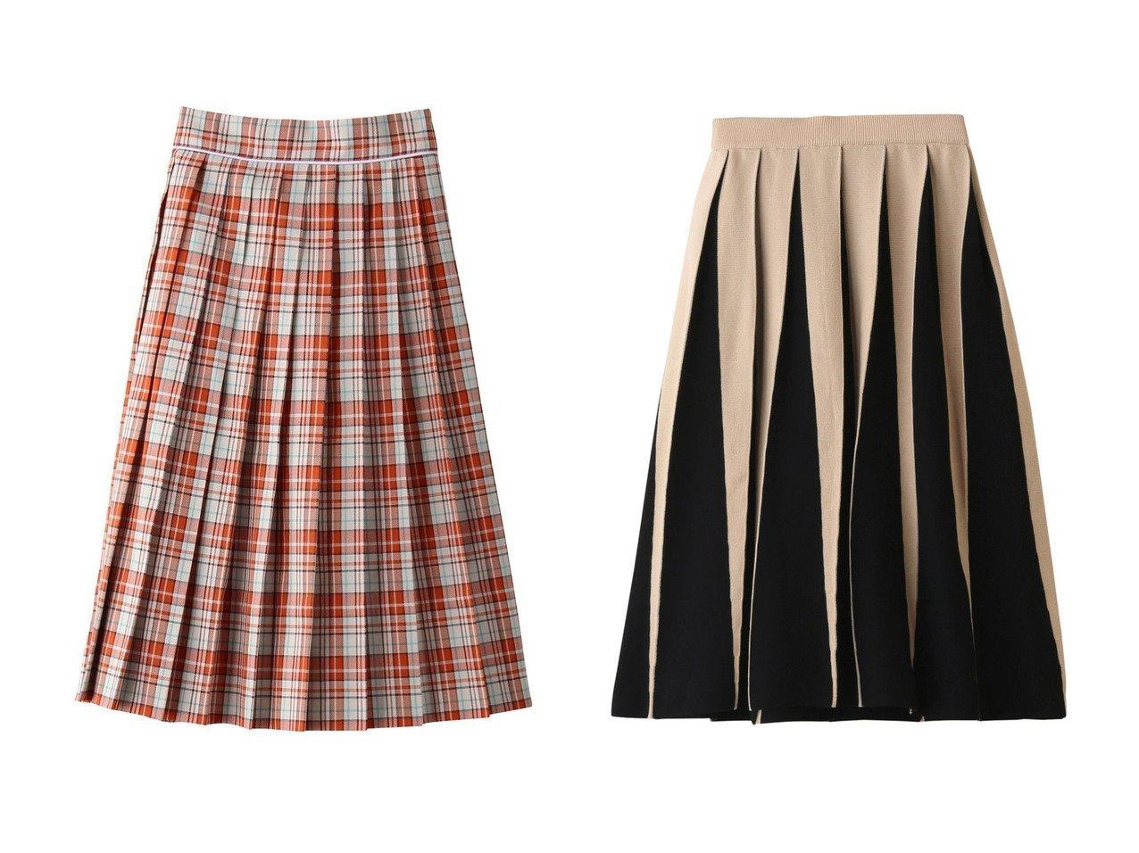 【Plan C/プラン C】のタータンチェックプリーツスカート&【MUVEIL/ミュベール】のニットプリーツスカート 【スカート】おすすめ!人気、トレンド・レディースファッションの通販 おすすめで人気の流行・トレンド、ファッションの通販商品 メンズファッション・キッズファッション・インテリア・家具・レディースファッション・服の通販 founy(ファニー) https://founy.com/ ファッション Fashion レディースファッション WOMEN スカート Skirt プリーツスカート Pleated Skirts ロングスカート Long Skirt プリーツ ロング |ID:crp329100000029603