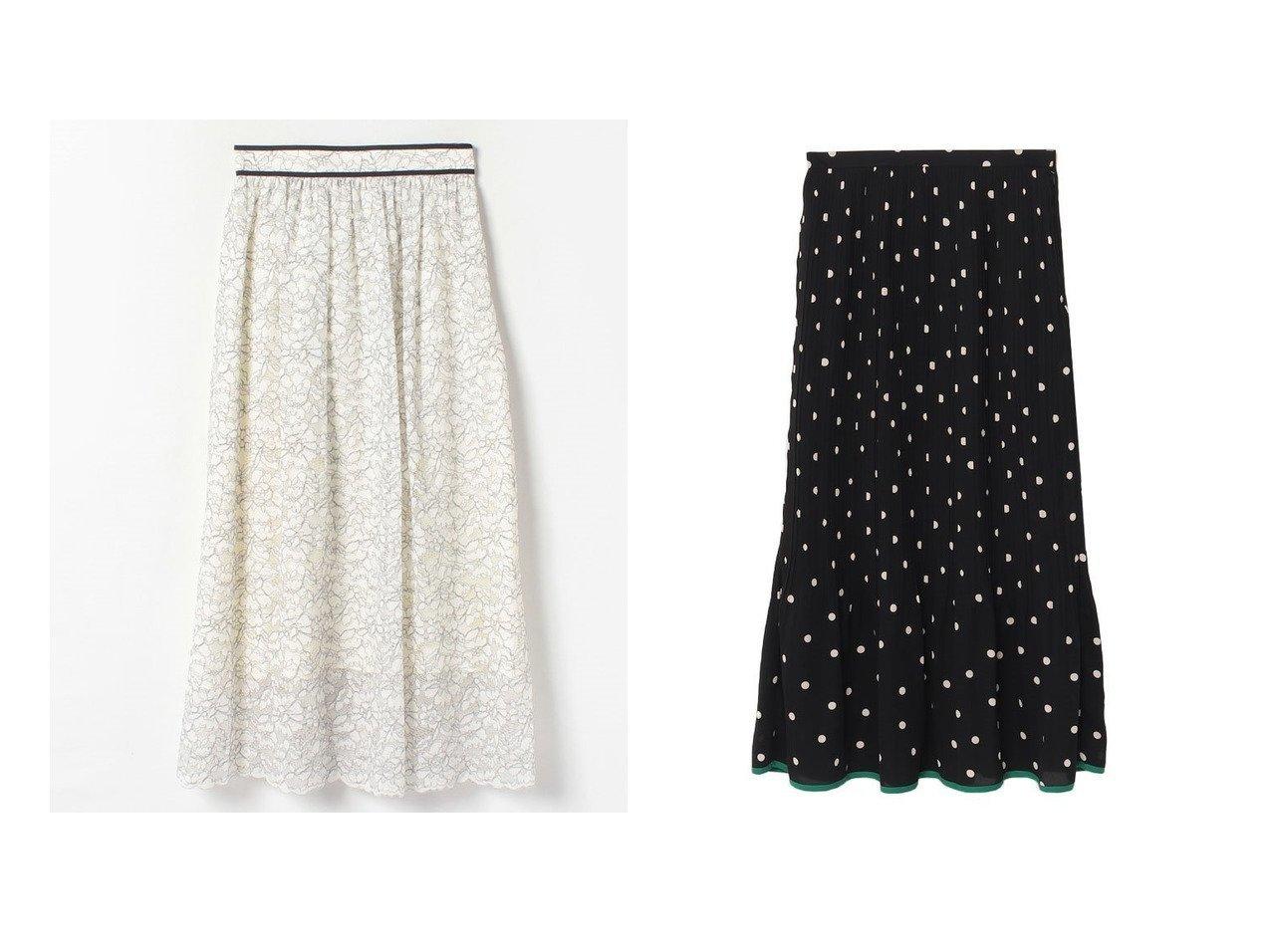 【allureville/アルアバイル】の【セットアップ対応商品】【LOULOU WILLOUGHBY】コードラッセルレースギャザースカート&パイピングヘムドットプリーツスカート 【スカート】おすすめ!人気、トレンド・レディースファッションの通販 おすすめで人気の流行・トレンド、ファッションの通販商品 メンズファッション・キッズファッション・インテリア・家具・レディースファッション・服の通販 founy(ファニー) https://founy.com/ ファッション Fashion レディースファッション WOMEN スカート Skirt プリーツスカート Pleated Skirts セットアップ Setup スカート Skirt Aライン/フレアスカート Flared A-Line Skirts NEW・新作・新着・新入荷 New Arrivals おすすめ Recommend エレガント クラシカル ドット パイピング プリーツ ロング ギャザー セットアップ フレア ラッセル レース |ID:crp329100000029605