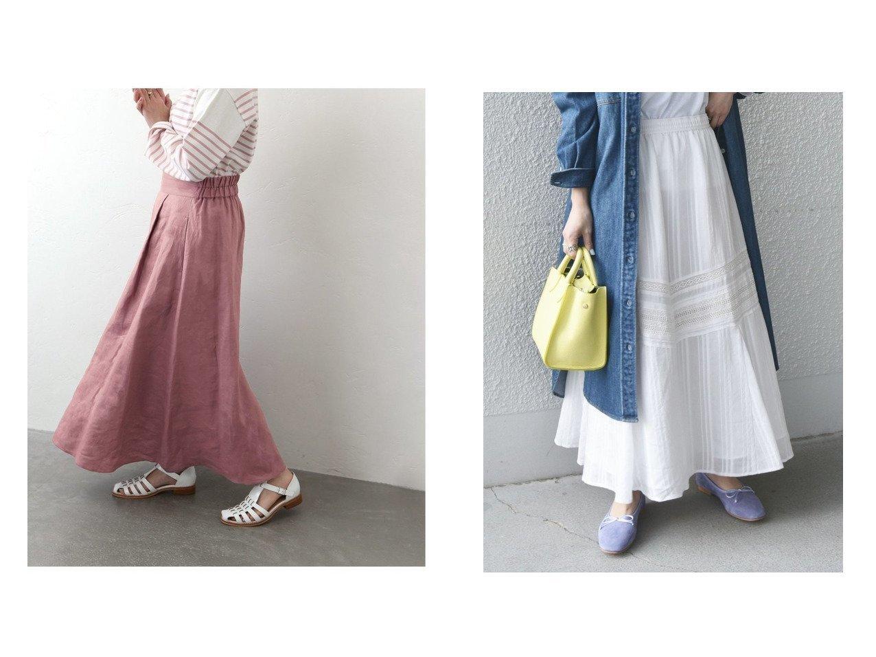 【SHIPS any/シップス エニィ】のSHIPS any ストライプパターン ギャザー スカート ウォッシャブル&【JOURNAL STANDARD/ジャーナルスタンダード】のフレンチリネンスカート 【スカート】おすすめ!人気、トレンド・レディースファッションの通販 おすすめで人気の流行・トレンド、ファッションの通販商品 メンズファッション・キッズファッション・インテリア・家具・レディースファッション・服の通販 founy(ファニー) https://founy.com/ ファッション Fashion レディースファッション WOMEN スカート Skirt ロングスカート Long Skirt S/S・春夏 SS・Spring/Summer おすすめ Recommend ウォッシャブル ギャザー スウェット ストライプ デニム パターン フェミニン フレア ミックス リラックス レース ロング 春 Spring 洗える NEW・新作・新着・新入荷 New Arrivals 2021年 2021 2021春夏・S/S SS/Spring/Summer/2021 リネン |ID:crp329100000029607