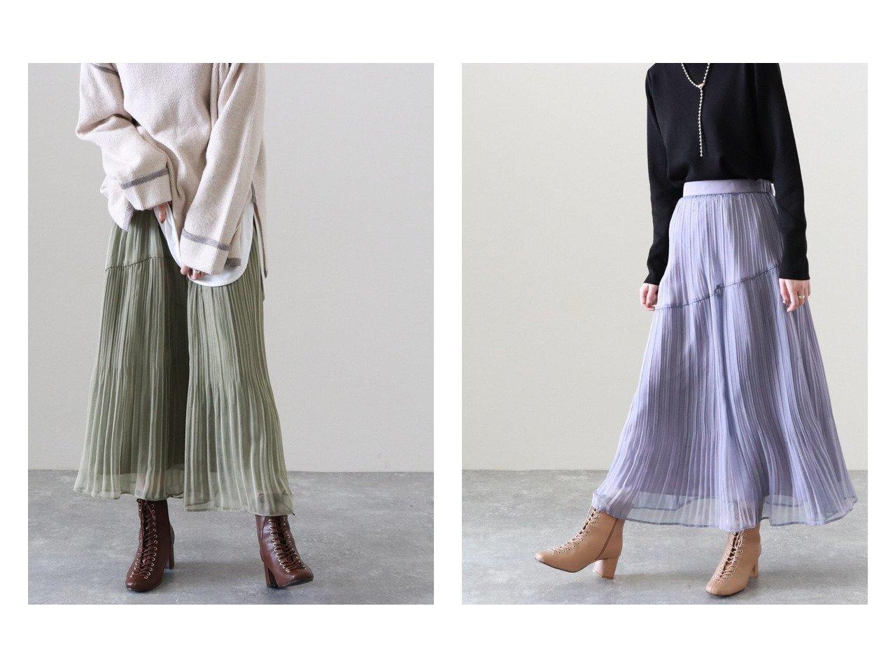 【Cheek/チーク】のシャイニーシフォンプリーツスカート 【スカート】おすすめ!人気、トレンド・レディースファッションの通販 おすすめで人気の流行・トレンド、ファッションの通販商品 メンズファッション・キッズファッション・インテリア・家具・レディースファッション・服の通販 founy(ファニー) https://founy.com/ ファッション Fashion レディースファッション WOMEN スカート Skirt プリーツスカート Pleated Skirts ロングスカート Long Skirt シャイニー スウェット パーカー プリーツ ミックス リブニット ロング 人気 定番 Standard |ID:crp329100000029608