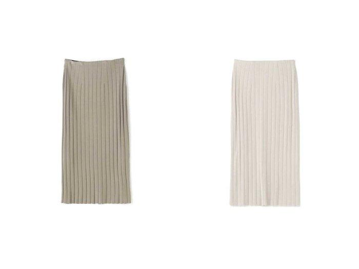 【NATURAL BEAUTY BASIC/ナチュラル ビューティー ベーシック】のリブタイトスカート 【スカート】おすすめ!人気、トレンド・レディースファッションの通販 おすすめファッション通販アイテム レディースファッション・服の通販 founy(ファニー) ファッション Fashion レディースファッション WOMEN スカート Skirt おすすめ Recommend タイトスカート ワイド |ID:crp329100000029611