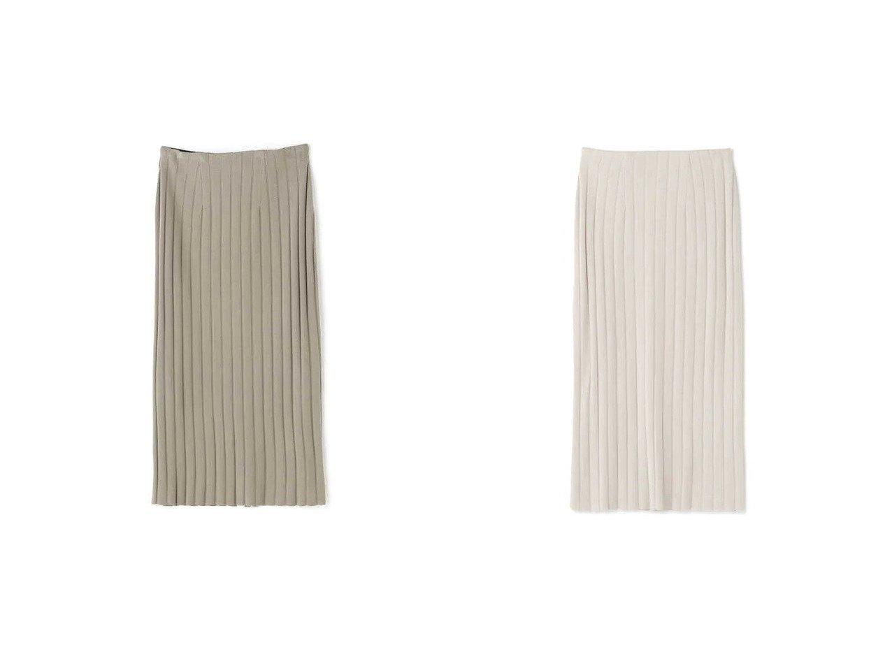 【NATURAL BEAUTY BASIC/ナチュラル ビューティー ベーシック】のリブタイトスカート 【スカート】おすすめ!人気、トレンド・レディースファッションの通販 おすすめで人気の流行・トレンド、ファッションの通販商品 メンズファッション・キッズファッション・インテリア・家具・レディースファッション・服の通販 founy(ファニー) https://founy.com/ ファッション Fashion レディースファッション WOMEN スカート Skirt おすすめ Recommend タイトスカート ワイド |ID:crp329100000029611