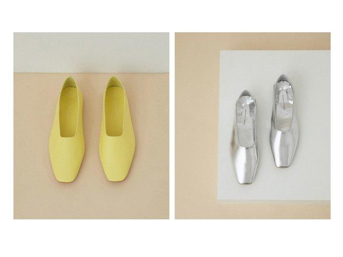【ADAM ET ROPE'/アダム エ ロペ】のソフトレザーフラット 【シューズ・靴】おすすめ!人気トレンド・レディースファッションの通販  おすすめファッション通販アイテム レディースファッション・服の通販 founy(ファニー) ファッション Fashion レディースファッション WOMEN 2021年 2021 2021春夏・S/S SS/Spring/Summer/2021 S/S・春夏 SS・Spring/Summer おすすめ Recommend イエロー シューズ シルバー フラット リラックス 再入荷 Restock/Back in Stock/Re Arrival 春 Spring |ID:crp329100000029614