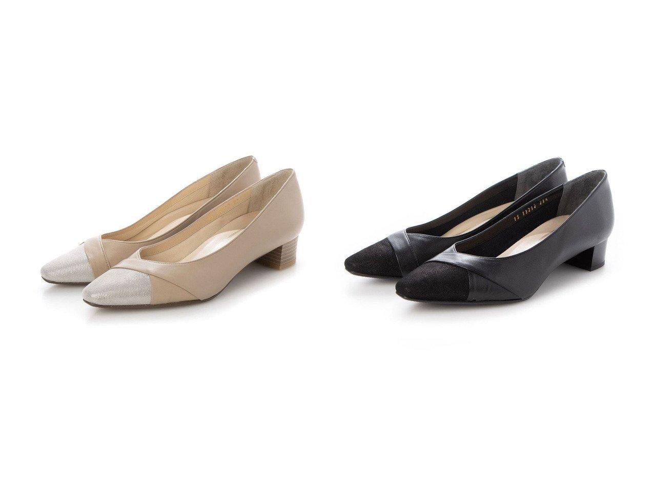 【MODE ET JACOMO/モード エ ジャコモ】の【3E】Vカットローヒールパンプス 【シューズ・靴】おすすめ!人気トレンド・レディースファッションの通販  おすすめで人気の流行・トレンド、ファッションの通販商品 メンズファッション・キッズファッション・インテリア・家具・レディースファッション・服の通販 founy(ファニー) https://founy.com/ ファッション Fashion レディースファッション WOMEN 送料無料 Free Shipping シューズ スエード 再入荷 Restock/Back in Stock/Re Arrival 日本製 Made in Japan |ID:crp329100000029615