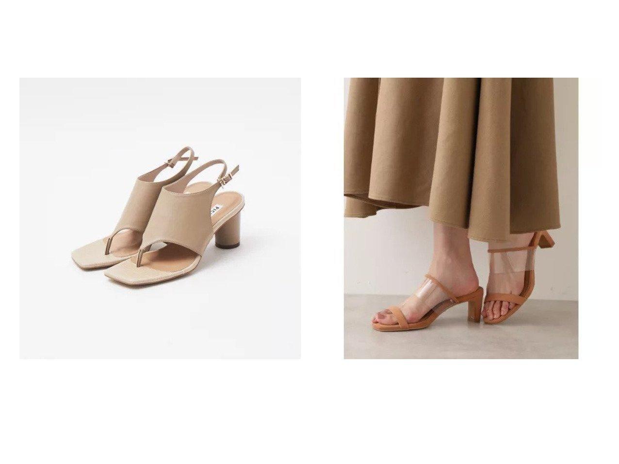 【NATURAL BEAUTY BASIC/ナチュラル ビューティー ベーシック】のツインバークリアーミュール&【Piche Abahouse/ピシェ アバハウス】のカヴァード トングサンダル 【シューズ・靴】おすすめ!人気トレンド・レディースファッションの通販  おすすめで人気の流行・トレンド、ファッションの通販商品 メンズファッション・キッズファッション・インテリア・家具・レディースファッション・服の通販 founy(ファニー) https://founy.com/ ファッション Fashion レディースファッション WOMEN ケミカル サンダル シューズ スウェード ラップ トレンド 人気 |ID:crp329100000029624