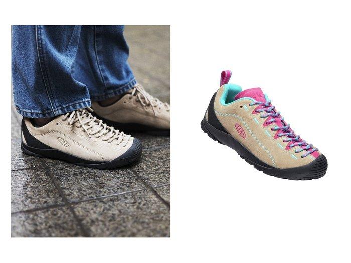 【KEEN/キーン】の(WOMEN)JASPER&(WOMEN)JASPER 【シューズ・靴】おすすめ!人気トレンド・レディースファッションの通販  おすすめファッション通販アイテム インテリア・キッズ・メンズ・レディースファッション・服の通販 founy(ファニー) https://founy.com/ ファッション Fashion レディースファッション WOMEN アウトドア クッション コルク シューズ スエード スニーカー スリッポン メッシュ モチーフ ライニング レース おすすめ Recommend |ID:crp329100000029629