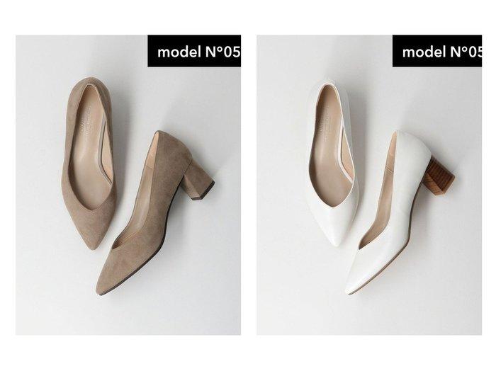 【green label relaxing / UNITED ARROWS/グリーンレーベル リラクシング / ユナイテッドアローズ】のmodel NO.05 D ポインテッド チャンキー パンプス(5cmヒール) 【シューズ・靴】おすすめ!人気トレンド・レディースファッションの通販  おすすめファッション通販アイテム レディースファッション・服の通販 founy(ファニー) ファッション Fashion レディースファッション WOMEN カッティング サテン シューズ トレンド パイソン プレーン ベーシック ポインテッド ミドル おすすめ Recommend |ID:crp329100000029630