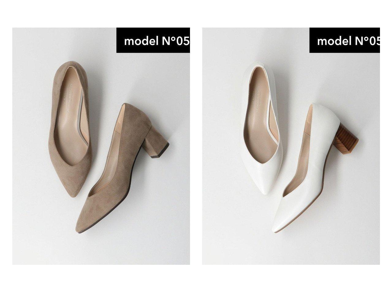 【green label relaxing / UNITED ARROWS/グリーンレーベル リラクシング / ユナイテッドアローズ】のmodel NO.05 D ポインテッド チャンキー パンプス(5cmヒール) 【シューズ・靴】おすすめ!人気トレンド・レディースファッションの通販  おすすめで人気の流行・トレンド、ファッションの通販商品 メンズファッション・キッズファッション・インテリア・家具・レディースファッション・服の通販 founy(ファニー) https://founy.com/ ファッション Fashion レディースファッション WOMEN カッティング サテン シューズ トレンド パイソン プレーン ベーシック ポインテッド ミドル おすすめ Recommend |ID:crp329100000029630