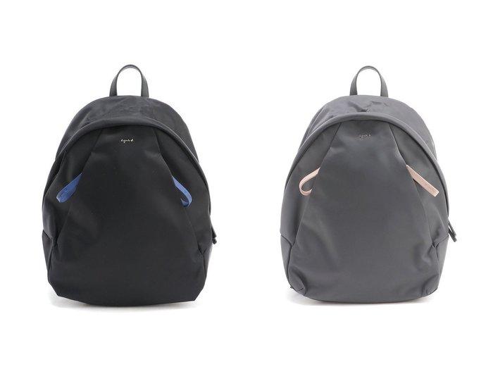 【agnes b. Voyage/アニエスベー ボヤージュ】のagnes b.OAS14-05バックパック 【バッグ・鞄】おすすめ!人気トレンド・レディースファッションの通販  おすすめファッション通販アイテム レディースファッション・服の通販 founy(ファニー) ファッション Fashion レディースファッション WOMEN バッグ Bag NEW・新作・新着・新入荷 New Arrivals コンビ ポケット リュック 定番 Standard |ID:crp329100000029654