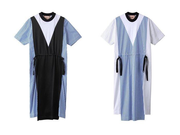 【Plan C/プラン C】のフロントドロストビスコースドレス&ストライプフロントドロストコットンドレス 【ワンピース・ドレス】おすすめ!人気トレンド・レディースファッションの通販  おすすめファッション通販アイテム レディースファッション・服の通販 founy(ファニー) ファッション Fashion レディースファッション WOMEN ワンピース Dress ドレス Party Dresses S/S・春夏 SS・Spring/Summer ストライプ ドレス フロント リボン 春 Spring バランス |ID:crp329100000029712