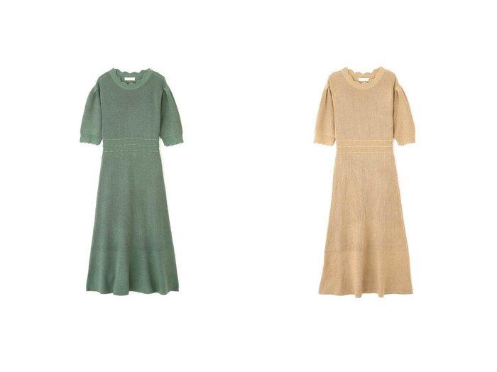 【FREE'S MART/フリーズマート】のスカラポイントマーメイドニットワンピース 【ワンピース・ドレス】おすすめ!人気トレンド・レディースファッションの通販  おすすめファッション通販アイテム レディースファッション・服の通販 founy(ファニー) ファッション Fashion レディースファッション WOMEN ワンピース Dress ニットワンピース Knit Dresses フェミニン |ID:crp329100000029730