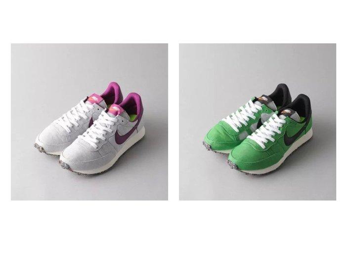 【Odette e Odile/オデット エ オディール】の【WEB限定】NIKE チャレンジャーOG 【シューズ・靴】おすすめ!人気、トレンド・レディースファッションの通販 おすすめファッション通販アイテム インテリア・キッズ・メンズ・レディースファッション・服の通販 founy(ファニー) https://founy.com/ ファッション Fashion レディースファッション WOMEN シューズ スタイリッシュ スニーカー フォルム ランニング リメイク |ID:crp329100000029836