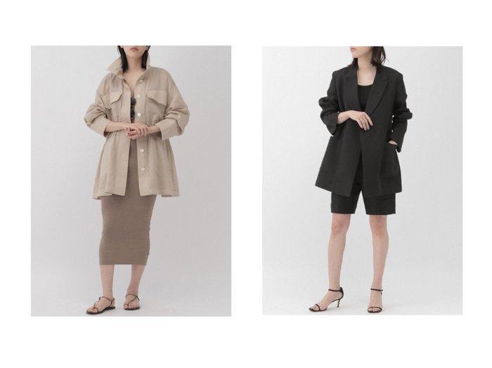 【Chaos/カオス】のエシレブルゾン&ペーパービスジャケット 【アウター】おすすめ!人気、トレンド・レディースファッションの通販 おすすめファッション通販アイテム インテリア・キッズ・メンズ・レディースファッション・服の通販 founy(ファニー) https://founy.com/ ファッション Fashion レディースファッション WOMEN アウター Coat Outerwear ジャケット Jackets ブルゾン Blouson/Jackets ジャケット タンブラー ワッフル シアー フォルム ブルゾン 人気 |ID:crp329100000029843