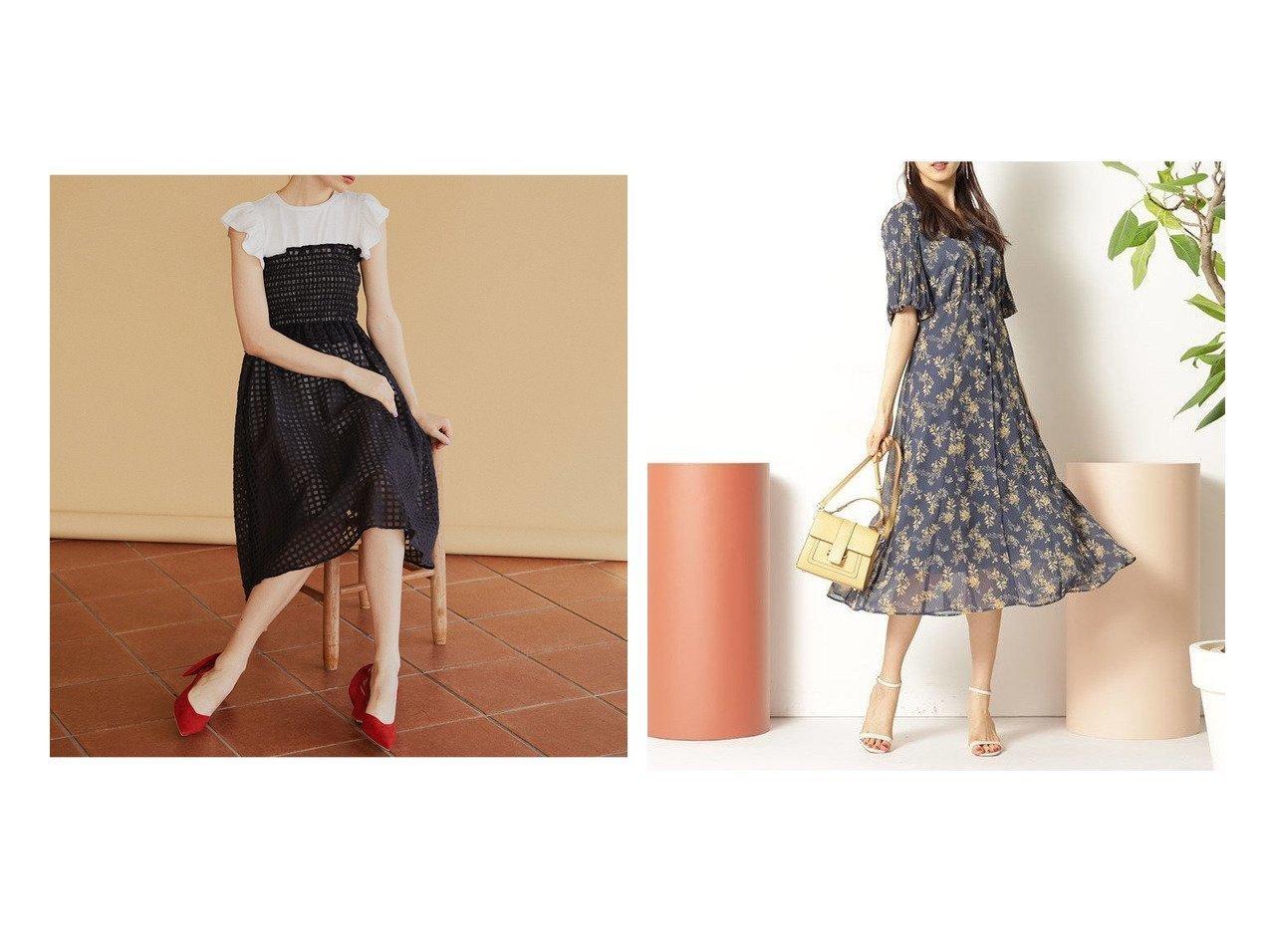 【31 Sons de mode/トランテアン ソン ドゥ モード】のTシャツ付きギンガムワンピース&【Rirandture/リランドチュール】のフラワー袖プリーツワンピース 【ワンピース・ドレス】おすすめ!人気、トレンド・レディースファッションの通販 おすすめで人気の流行・トレンド、ファッションの通販商品 メンズファッション・キッズファッション・インテリア・家具・レディースファッション・服の通販 founy(ファニー) https://founy.com/ ファッション Fashion レディースファッション WOMEN ワンピース Dress NEW・新作・新着・新入荷 New Arrivals フラワー プリーツ 2021年 2021 2021春夏・S/S SS/Spring/Summer/2021 S/S・春夏 SS・Spring/Summer インナー エアリー ガーリー ギンガム シャーリング スリーブ チェック バランス フィット フリル フレンチ |ID:crp329100000029854