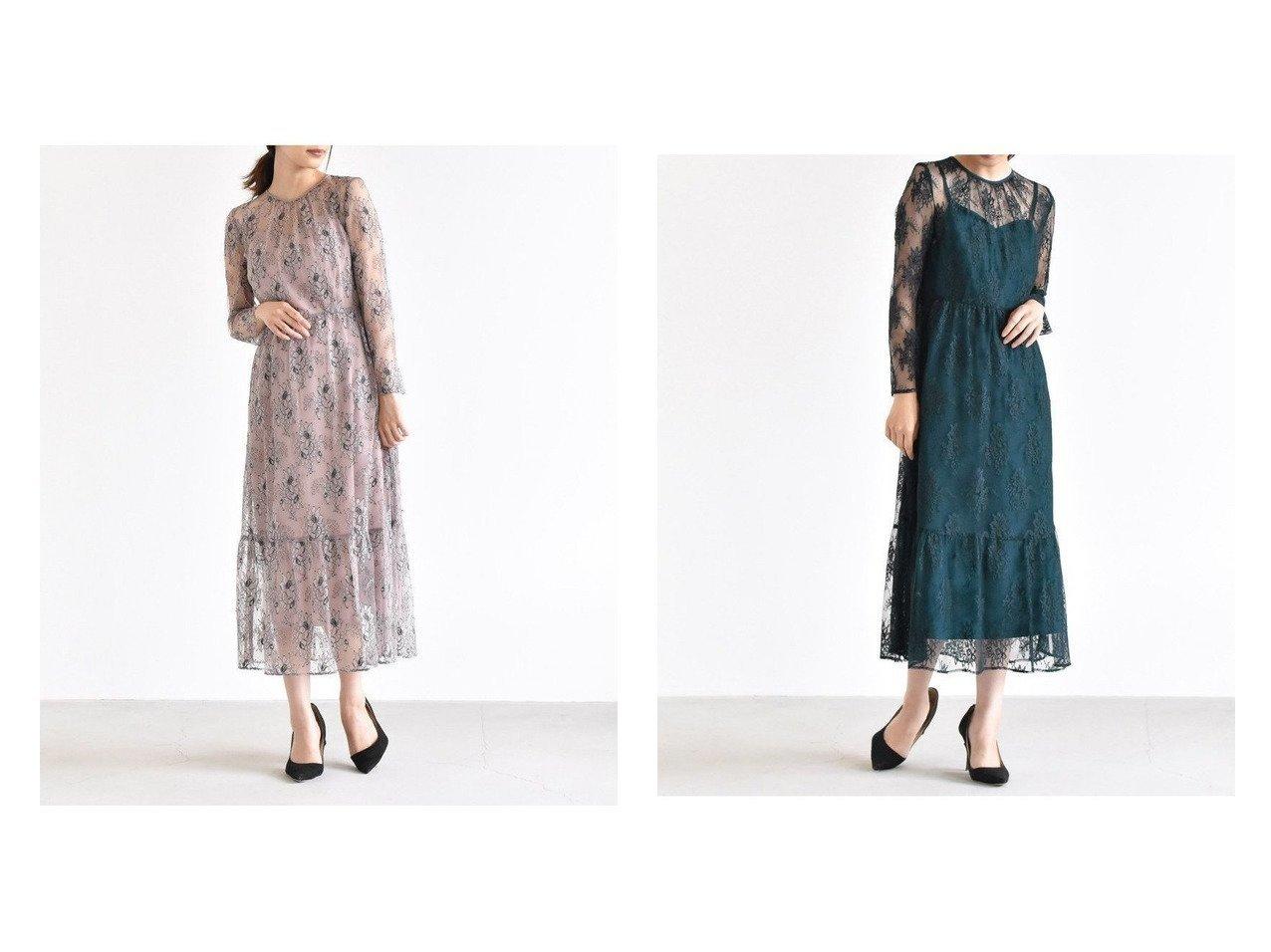 【Kaene/カエン】のオールレースワンピース 【ワンピース・ドレス】おすすめ!人気、トレンド・レディースファッションの通販 おすすめで人気の流行・トレンド、ファッションの通販商品 メンズファッション・キッズファッション・インテリア・家具・レディースファッション・服の通販 founy(ファニー) https://founy.com/ ファッション Fashion レディースファッション WOMEN ワンピース Dress レース 長袖 |ID:crp329100000029861