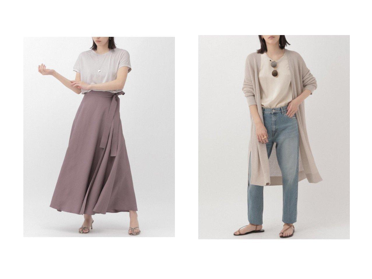 【Chaos/カオス】のシルクアームレットTシャツ&リネンレーヨン畦編みロングカーディガン 【トップス・カットソー】おすすめ!人気、トレンド・レディースファッションの通販 おすすめで人気の流行・トレンド、ファッションの通販商品 メンズファッション・キッズファッション・インテリア・家具・レディースファッション・服の通販 founy(ファニー) https://founy.com/ ファッション Fashion レディースファッション WOMEN トップス・カットソー Tops/Tshirt シャツ/ブラウス Shirts/Blouses ロング / Tシャツ T-Shirts カットソー Cut and Sewn ニット Knit Tops カーディガン Cardigans 畦編みニット Cardigan Stitch カットソー ショート シルク スリーブ カーディガン シンプル リネン ロング 畦 |ID:crp329100000029867
