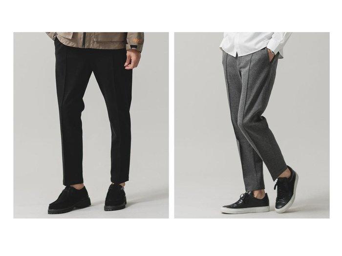 【nano universe / MEN/ナノ ユニバース】のソロテックスイージーパンツ 【MEN】おすすめ!人気トレンド・男性、メンズファッションの通販  おすすめファッション通販アイテム レディースファッション・服の通販 founy(ファニー) ファッション Fashion メンズファッション MEN ボトムス Bottoms/Men カットソー ジャケット ストレッチ |ID:crp329100000030098