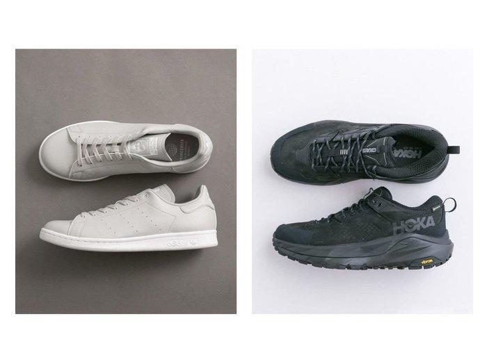 【URBAN RESEARCH / MEN/アーバンリサーチ】のHOKA ONE ONE KAHA LOW GORE-TREX&【別注】adidas Originals for UR STAN SMITH EX. 【MEN】おすすめ!人気トレンド・男性、メンズファッションの通販  おすすめファッション通販アイテム インテリア・キッズ・メンズ・レディースファッション・服の通販 founy(ファニー) https://founy.com/ ファッション Fashion メンズファッション MEN シューズ・靴 Shoes/Men スニーカー Sneakers クッション シューズ スニーカー スリッポン パフォーマンス フォーム ラバー ランニング 春 Spring スペシャル 人気 フィット プレミアム 別注 モダン レース 2021年 2021 S/S・春夏 SS・Spring/Summer 2021春夏・S/S SS/Spring/Summer/2021 |ID:crp329100000030103