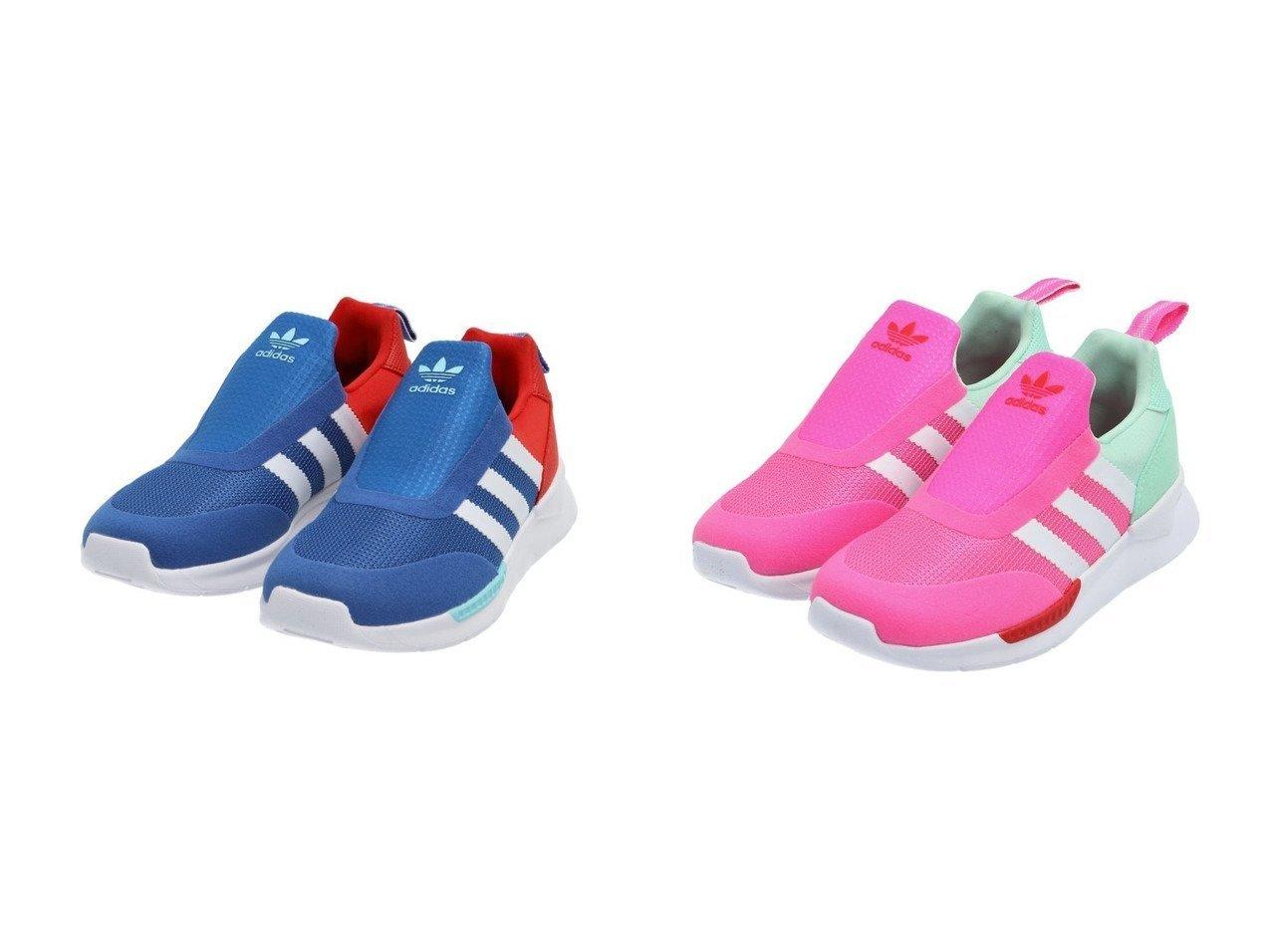 【adidas Originals / KIDS/アディダス オリジナルス】のZX 360 C 【KIDS】子供服のおすすめ!人気トレンド・キッズファッションの通販 おすすめで人気の流行・トレンド、ファッションの通販商品 メンズファッション・キッズファッション・インテリア・家具・レディースファッション・服の通販 founy(ファニー) https://founy.com/ ファッション Fashion キッズファッション KIDS シューズ スリッポン ランニング 再入荷 Restock/Back in Stock/Re Arrival |ID:crp329100000030161