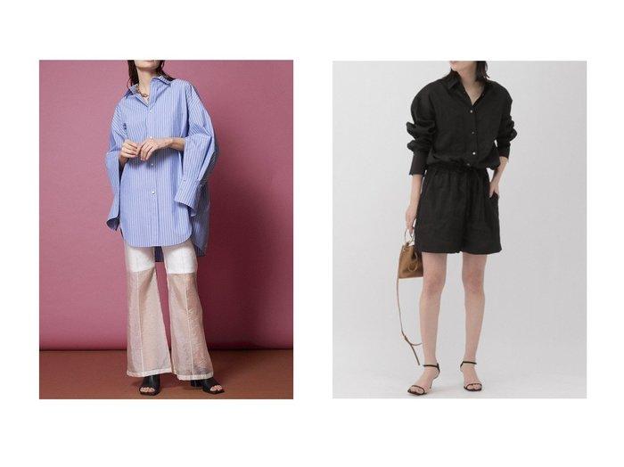 【MAISON SPECIAL/メゾンスペシャル】のシースルーレイヤードパンツ&【Chaos/カオス】のコンビネゾン 【パンツ】おすすめ!人気、トレンド・レディースファッションの通販 おすすめファッション通販アイテム レディースファッション・服の通販 founy(ファニー) ファッション Fashion レディースファッション WOMEN パンツ Pants キュプラ クラシカル ダブル マニッシュ コンビネゾン ショート バランス リゾート |ID:crp329100000030169