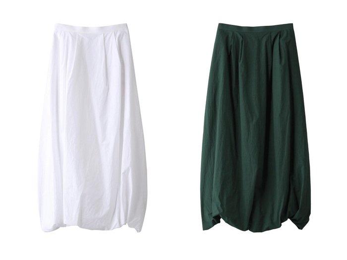 【nagonstans/ナゴンスタンス】のWashedタイプライター バルーンスカート 【スカート】おすすめ!人気、トレンド・レディースファッションの通販 おすすめ人気トレンドファッション通販アイテム 人気、トレンドファッション・服の通販 founy(ファニー)  ファッション Fashion レディースファッション WOMEN スカート Skirt ロングスカート Long Skirt イレギュラー シンプル タイプライター バルーン ロング 再入荷 Restock/Back in Stock/Re Arrival |ID:crp329100000030183