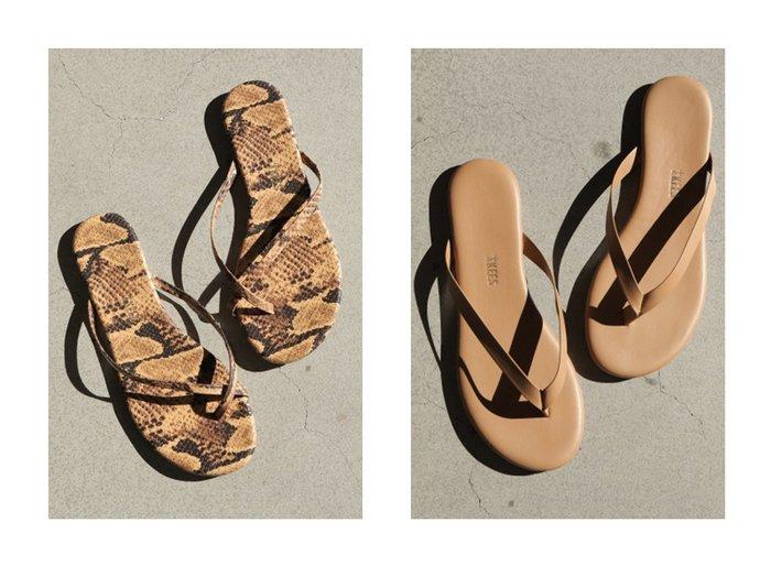 【Chaos/カオス】の【TKEES】SNAKE ビーチサンダル&【TKEES】BOYFRIEND ビーチサンダル 【シューズ・靴】おすすめ!人気、トレンド・レディースファッションの通販 おすすめファッション通販アイテム レディースファッション・服の通販 founy(ファニー) ファッション Fashion レディースファッション WOMEN サンダル ビーチ 人気 |ID:crp329100000030191
