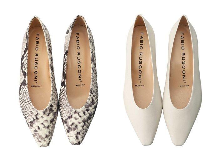 【heliopole/エリオポール】の【FABIO RUSCONI】ポインテッドパンプス&【FABIO RUSCONI】ポインテッドパンプス 【シューズ・靴】おすすめ!人気、トレンド・レディースファッションの通販 おすすめファッション通販アイテム レディースファッション・服の通販 founy(ファニー)  ファッション Fashion レディースファッション WOMEN パイソン シンプル |ID:crp329100000030194