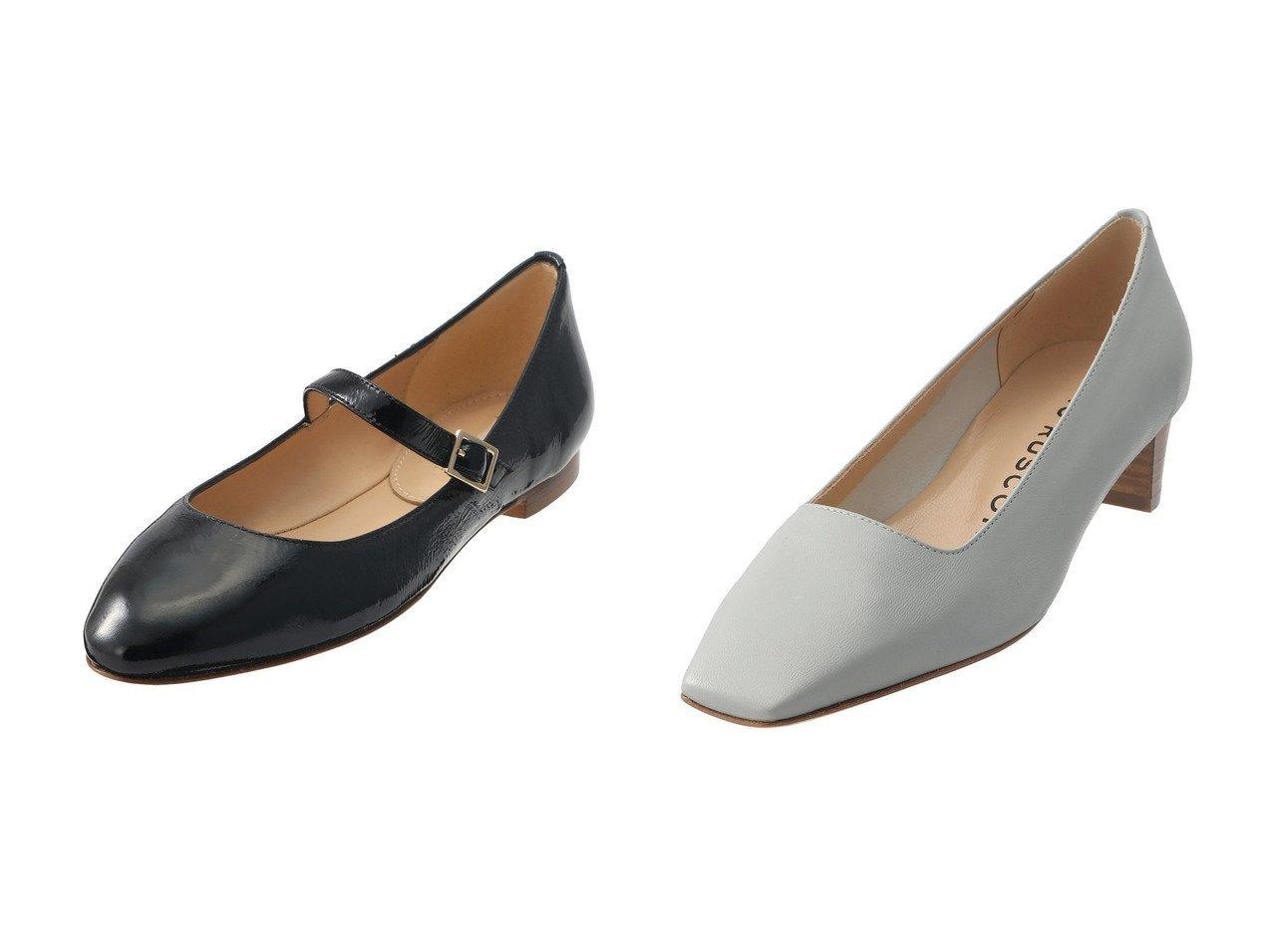 【heliopole/エリオポール】の【FABIO RUSCONI】メリージェーンフラットシューズ&【FABIO RUSCONI】スクエアパンプス 【シューズ・靴】おすすめ!人気、トレンド・レディースファッションの通販 おすすめで人気の流行・トレンド、ファッションの通販商品 メンズファッション・キッズファッション・インテリア・家具・レディースファッション・服の通販 founy(ファニー) https://founy.com/ ファッション Fashion レディースファッション WOMEN ウッド シンプル スクエア クラシカル ストラップシューズ ソックス フェミニン |ID:crp329100000030195