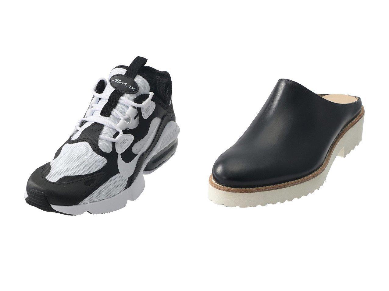 【JET/ジェット】の【NIKE】WMNS NIKE AIR MAX INFINITY2&【PLAIN PEOPLE/プレインピープル】の【LUCA GROSSI】レザーミュール 【シューズ・靴】おすすめ!人気、トレンド・レディースファッションの通販 おすすめで人気の流行・トレンド、ファッションの通販商品 メンズファッション・キッズファッション・インテリア・家具・レディースファッション・服の通販 founy(ファニー) https://founy.com/ ファッション Fashion レディースファッション WOMEN なめらか アーモンドトゥ サンダル シンプル ドッキング ミュール S/S・春夏 SS・Spring/Summer クッション スニーカー メッシュ モノトーン 春 Spring |ID:crp329100000030196