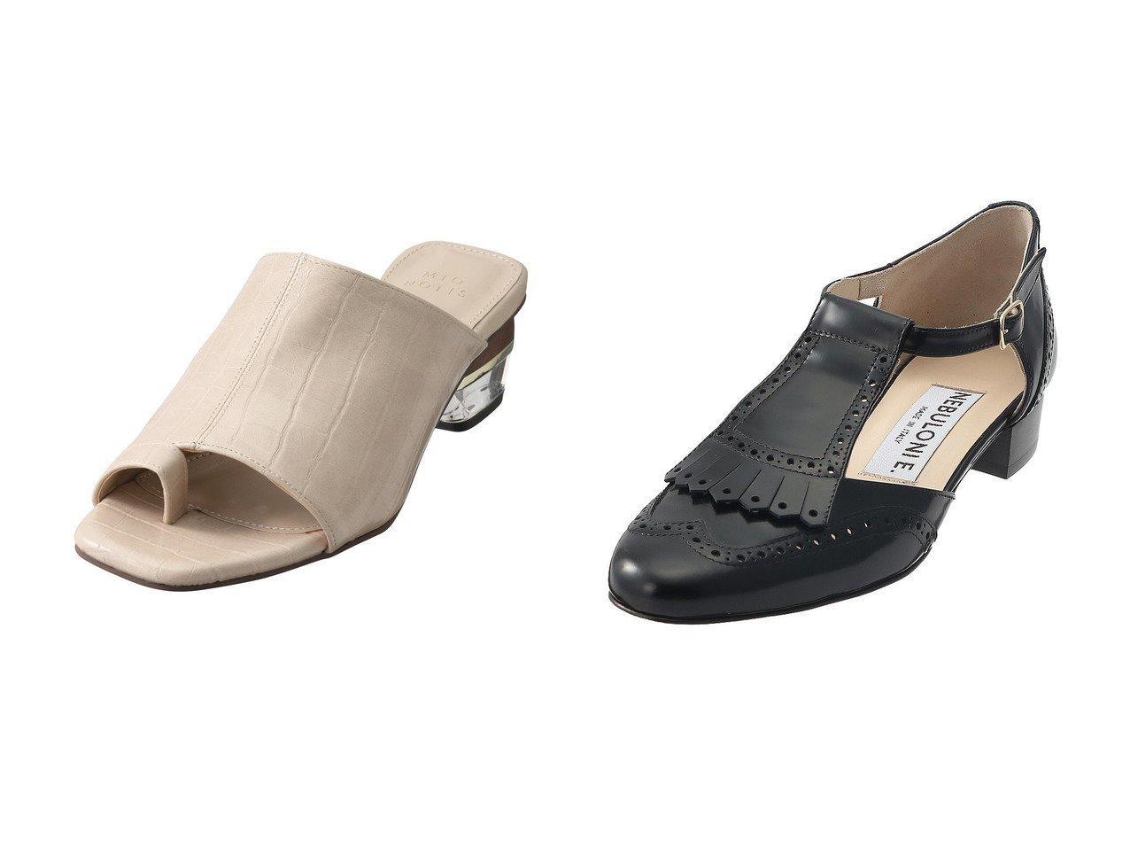 【martinique/マルティニーク】の【NEBLONI E.】DIDO メダリオンストラップシューズ&【Esmeralda/エスメラルダ】の【MIO NOTIS】スカルプチャーヒールトングサンダル 【シューズ・靴】おすすめ!人気、トレンド・レディースファッションの通販 おすすめで人気の流行・トレンド、ファッションの通販商品 メンズファッション・キッズファッション・インテリア・家具・レディースファッション・服の通販 founy(ファニー) https://founy.com/ ファッション Fashion レディースファッション WOMEN サンダル モダン クラシカル シューズ ソックス フォルム フラット |ID:crp329100000030198