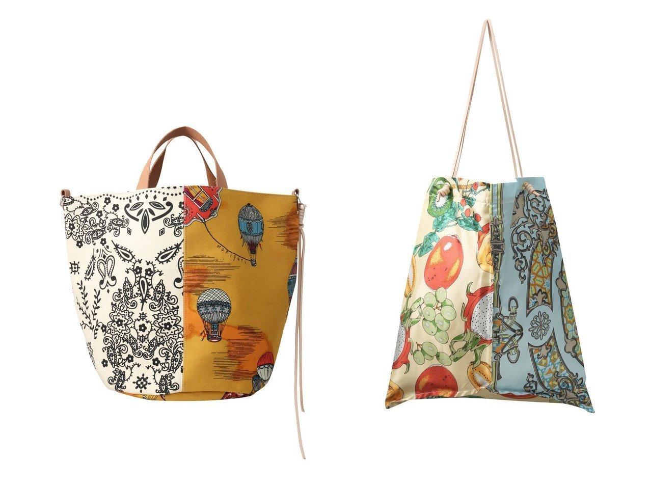 【manipuri/マニプリ】のバケツトートバッグ M&スカーフトートバッグ L 【バッグ・鞄】おすすめ!人気、トレンド・レディースファッションの通販 おすすめで人気の流行・トレンド、ファッションの通販商品 メンズファッション・キッズファッション・インテリア・家具・レディースファッション・服の通販 founy(ファニー) https://founy.com/ ファッション Fashion レディースファッション WOMEN バッグ Bag スカーフ ドッキング フォルム バケツ リボン  ID:crp329100000030207