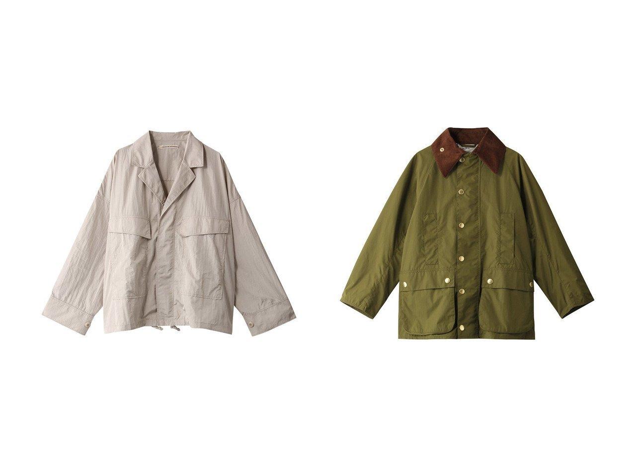 【ROSE BUD/ローズバッド】の【P.P】ナイロンジャケット&【MUVEIL/ミュベール】のBarbour ジャケット 【アウター】おすすめ!人気、トレンド・レディースファッションの通販 おすすめで人気の流行・トレンド、ファッションの通販商品 メンズファッション・キッズファッション・インテリア・家具・レディースファッション・服の通販 founy(ファニー) https://founy.com/ ファッション Fashion レディースファッション WOMEN アウター Coat Outerwear ジャケット Jackets アウトドア クール コーデュロイ ジャケット スタイリッシュ ポケット 軽量 シンプル フラップ |ID:crp329100000030213