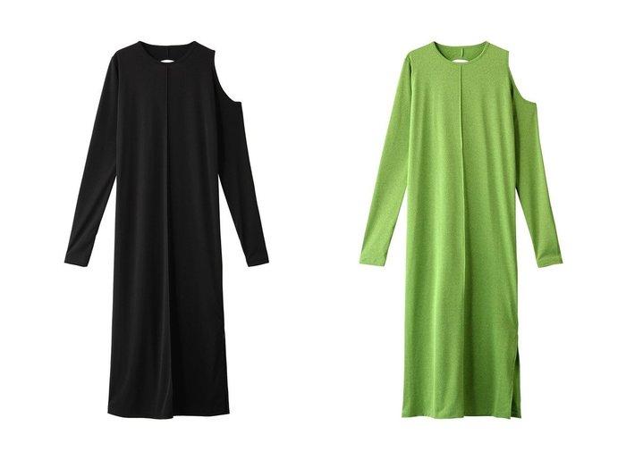 【MAISON SPECIAL/メゾンスペシャル】のバックホールマキシワンピース 【ワンピース・ドレス】おすすめ!人気、トレンド・レディースファッションの通販 おすすめ人気トレンドファッション通販アイテム 人気、トレンドファッション・服の通販 founy(ファニー)  ファッション Fashion レディースファッション WOMEN ワンピース Dress マキシワンピース Maxi Dress アシンメトリー ショルダー ストレッチ ロング |ID:crp329100000030224