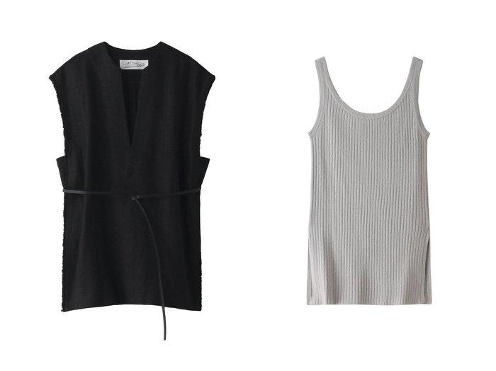 【Chaos/カオス】のCSカパティーTOP&CRシルクリブニットタンク 【トップス・カットソー】おすすめ!人気、トレンド・レディースファッションの通販 おすすめファッション通販アイテム インテリア・キッズ・メンズ・レディースファッション・服の通販 founy(ファニー) https://founy.com/ ファッション Fashion レディースファッション WOMEN トップス・カットソー Tops/Tshirt ニット Knit Tops キャミソール / ノースリーブ No Sleeves シャツ/ブラウス Shirts/Blouses ロング / Tシャツ T-Shirts カットソー Cut and Sewn おすすめ Recommend キャミソール シルク ストライプ スリット セットアップ タンク フィット S/S・春夏 SS・Spring/Summer スリーブ チュニック ノースリーブ フリンジ リネン ロング 春 Spring |ID:crp329100000030245