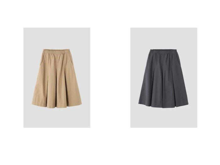 【MHL/エムエイチエル】のDRY COTTON OXFORD 【スカート】おすすめ!人気、トレンド・レディースファッションの通販 おすすめファッション通販アイテム インテリア・キッズ・メンズ・レディースファッション・服の通販 founy(ファニー) https://founy.com/ ファッション Fashion レディースファッション WOMEN スカート Skirt フレア プリーツ |ID:crp329100000030374