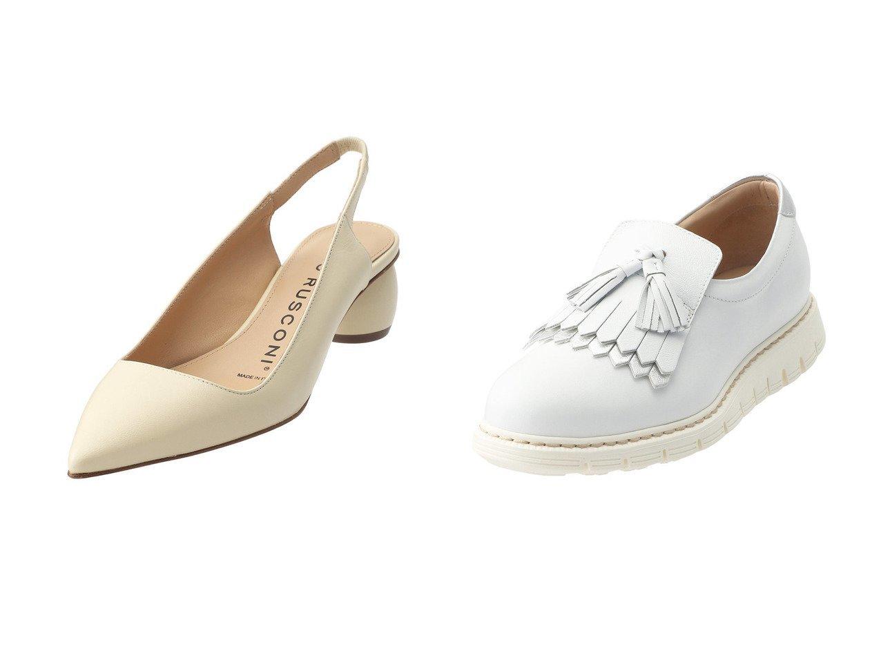 【LucaGrossi/ルカグロッシ】のタッセルフリンジシューズ&【MAISON SPECIAL/メゾンスペシャル】の【FABIO RUSCONI】OTRANTO パンプス 【シューズ・靴】おすすめ!人気、トレンド・レディースファッションの通販 おすすめで人気の流行・トレンド、ファッションの通販商品 メンズファッション・キッズファッション・インテリア・家具・レディースファッション・服の通販 founy(ファニー) https://founy.com/ ファッション Fashion レディースファッション WOMEN S/S・春夏 SS・Spring/Summer 春 Spring  ID:crp329100000030391