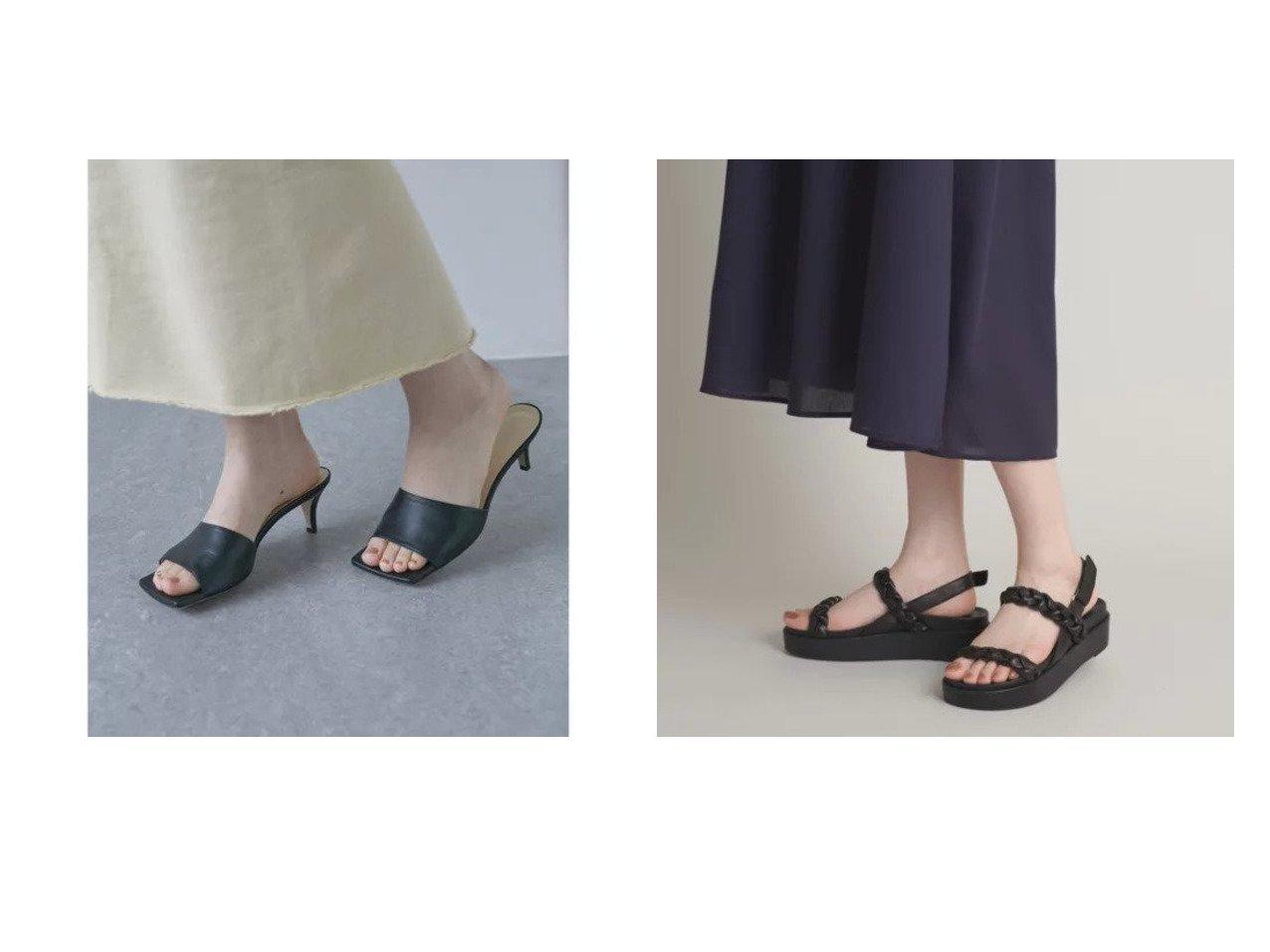 【GALLARDAGALANTE/ガリャルダガランテ】の【2.718】スクエアミュール&【Odette e Odile/オデット エ オディール】のOFD ブレイド サンダル40 【シューズ・靴】おすすめ!人気、トレンド・レディースファッションの通販 おすすめで人気の流行・トレンド、ファッションの通販商品 メンズファッション・キッズファッション・インテリア・家具・レディースファッション・服の通販 founy(ファニー) https://founy.com/ ファッション Fashion レディースファッション WOMEN インソール サンダル シューズ 厚底 シルク シンプル ソックス トレンド パイソン ベーシック ロング ワイド おすすめ Recommend  ID:crp329100000030395
