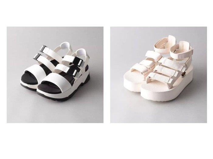 【Odette e Odile/オデット エ オディール】のTEVA JADITO SLINGBACK&TEVA FLATFORM MEVIA 【シューズ・靴】おすすめ!人気、トレンド・レディースファッションの通販 おすすめファッション通販アイテム インテリア・キッズ・メンズ・レディースファッション・服の通販 founy(ファニー) https://founy.com/ ファッション Fashion レディースファッション WOMEN S/S・春夏 SS・Spring/Summer サンダル シューズ スポーツ ラップ 人気 厚底 春 Spring |ID:crp329100000030396