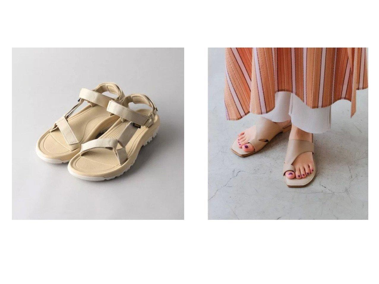 【green label relaxing / UNITED ARROWS/グリーンレーベル リラクシング / ユナイテッドアローズ】のCFC スクエア トング サンダル (1.5cmヒール)&【Odette e Odile/オデット エ オディール】のTEVA HURRICANE XLT2 【シューズ・靴】おすすめ!人気、トレンド・レディースファッションの通販 おすすめで人気の流行・トレンド、ファッションの通販商品 メンズファッション・キッズファッション・インテリア・家具・レディースファッション・服の通販 founy(ファニー) https://founy.com/ ファッション Fashion レディースファッション WOMEN サンダル シューズ シンプル スクエア セットアップ フィット リラックス S/S・春夏 SS・Spring/Summer アウトドア スポーツ ソックス 人気 定番 Standard 春 Spring  ID:crp329100000030398