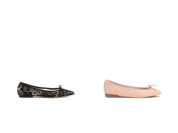 【repetto/レペット】のLili Ballerinas&Brigitte Ballerinas 【シューズ・靴】おすすめ!人気、トレンド・レディースファッションの通販 おすすめファッション通販アイテム インテリア・キッズ・メンズ・レディースファッション・服の通販 founy(ファニー) https://founy.com/ ファッション Fashion レディースファッション WOMEN シューズ シンプル バレエ フラット ベーシック ラバー リボン ワンポイント エレガント クラシック フォルム レース |ID:crp329100000030404