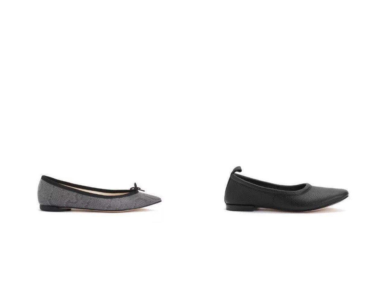【repetto/レペット】のBrigitte Ballerinas&Romeo 【シューズ・靴】おすすめ!人気、トレンド・レディースファッションの通販 おすすめで人気の流行・トレンド、ファッションの通販商品 メンズファッション・キッズファッション・インテリア・家具・レディースファッション・服の通販 founy(ファニー) https://founy.com/ ファッション Fashion レディースファッション WOMEN エレガント シューズ バレエ パイソン フラット モダン シンプル ループ ワンポイント  ID:crp329100000030405