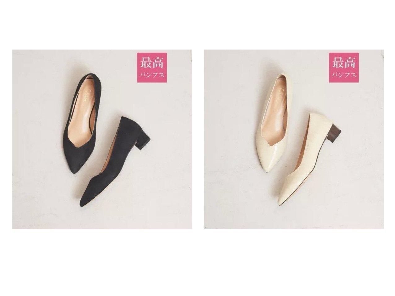 【Piche Abahouse/ピシェ アバハウス】の【最高パンプス/3cmヒール】美脚 快適 パンプス 【シューズ・靴】おすすめ!人気、トレンド・レディースファッションの通販 おすすめで人気の流行・トレンド、ファッションの通販商品 メンズファッション・キッズファッション・インテリア・家具・レディースファッション・服の通販 founy(ファニー) https://founy.com/ ファッション Fashion レディースファッション WOMEN インソール カッティング クッション シューズ スタイリッシュ 定番 Standard 人気 フィット ブロック おすすめ Recommend |ID:crp329100000030409